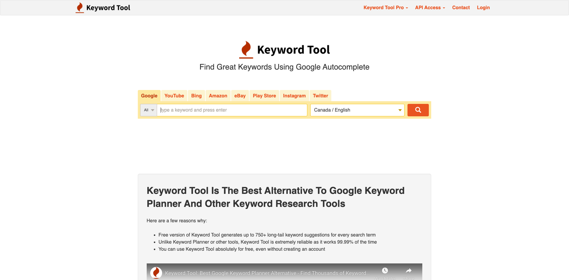Find Great Keywords Using Google Autocomplete