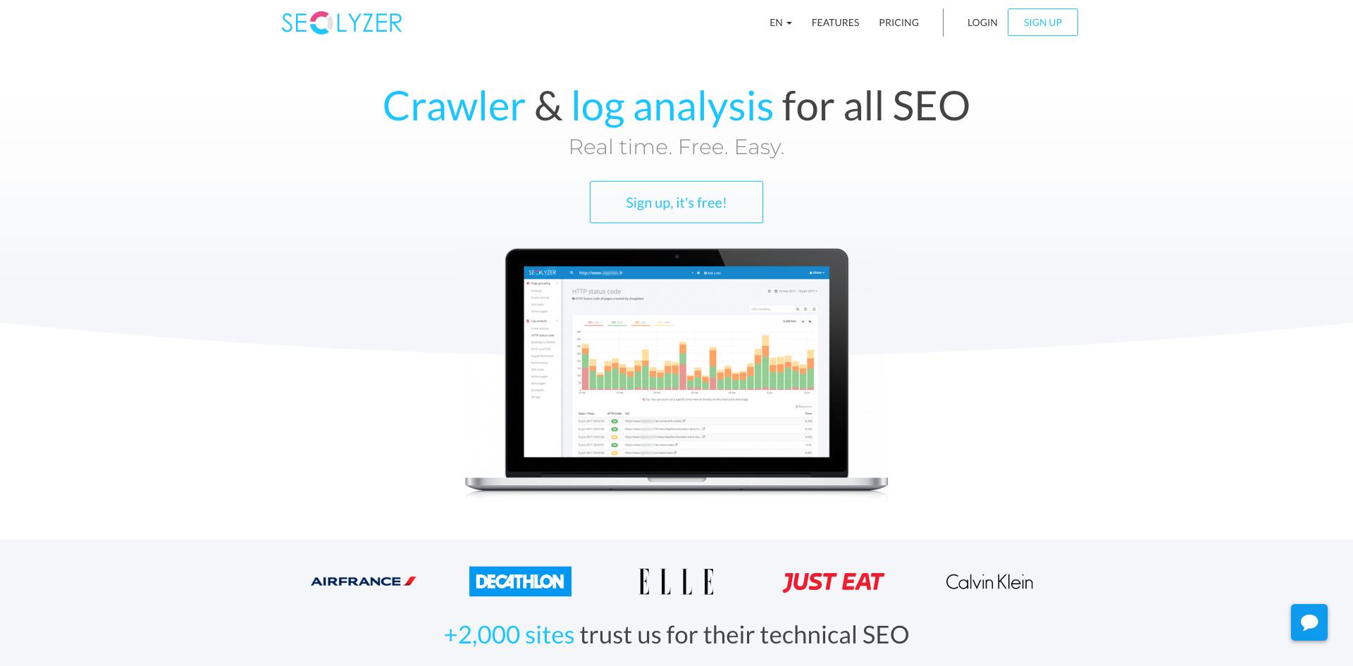 Crawler & log analysis for all SEO
