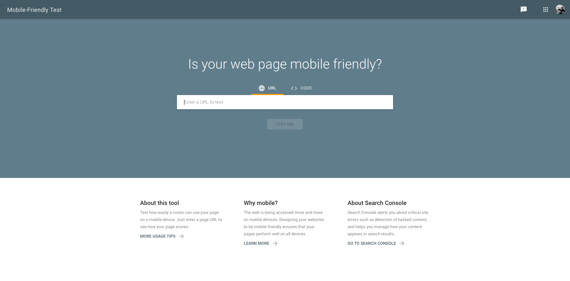 Is your web page mobile friendly?