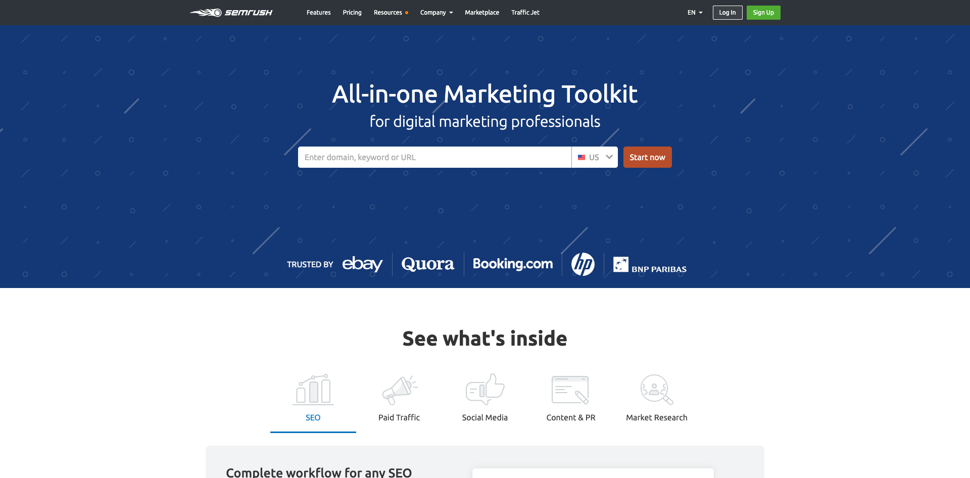 All-in-one Marketing Toolkit for digital marketing professionals