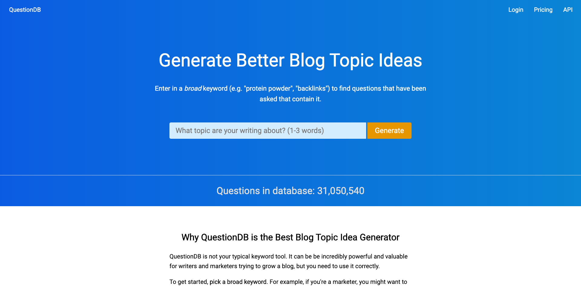 Generate Better Blog Topic Ideas